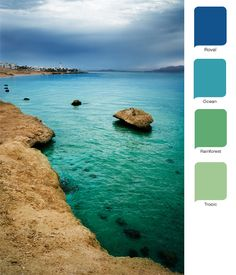 Beach Wedding Inspiration: Ocean hues
