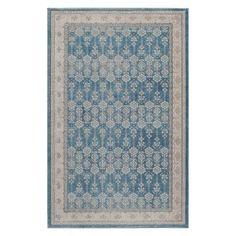 Momeni Kerman .KE-04 Indoor Area Rug Blue - KERMAKE-04BLU2030, Durable