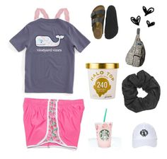 """""""~💕~"""" by itsmadddyem on Polyvore featuring Boohoo, Humble Chic, Disney, Birkenstock, Vineyard Vines and Kavu"""