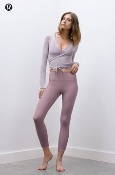 Yoga Clothes : Immersed in feel. lululemon x Taryn Toomey is back. Yoga Clothes : Immersed in feel. lululemon x Taryn Toomey is back. Yoga Fashion, Fitness Fashion, Fashion Outfits, Ladies Fashion, Lulu Lemon, Mode Des Leggings, Yoga Leggings, Leggings Sale, Yoga Pants