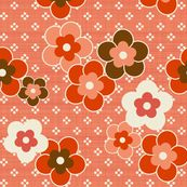 Retro_Blooms - mrshervi - Spoonflower