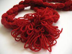 Nákrčník Red feeling / Zboží prodejce Style by Luxia Crochet Necklace, Feelings, Red, Style, Fashion, Swag, Moda, Fashion Styles, Fashion Illustrations
