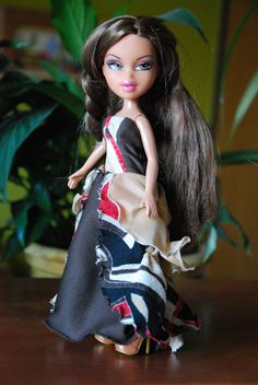 Bratz 10 handmade ball gowns by LucieVran on Etsy Bratz Doll, Dolls, Handmade Dresses, Brown Dress, Ever After, Monster High, Character Art, All Things, Ball Gowns