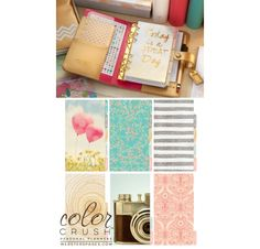 Organiseur Complet Personal Planner 'Webster's Pages - Color Crush' Or