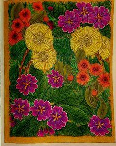 #thefloweryear #leiladuly #springflowers #divasdasartes #carandachepencils #