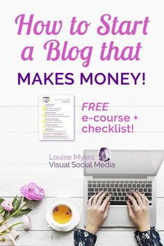 Blogging changed my life! Want to change yours too? CLICK to learn the fast and easy way to start a blog with WordPress! Get the FREE printable checklist and step-by-step e-course. Quit your job and work from home! #BloggingForBeginners #StartABlog #WAHM #WorkAtHome #MakeMoneyOnline #BloggingTips