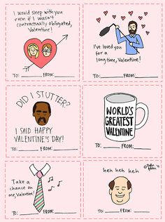 The Office valentines from www. The Office valentines from www. My Funny Valentine, Funny Valentines Cards For Friends, The Office Valentines, Friend Valentine Card, Valentine Day Cards, Office Themed Party, Office Birthday, The Office Stickers, The Office Show