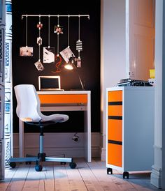 workspace decorating ideas that can trigger your creativity great and modern style orange white home office workspace decorating ideas with