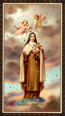 Oct 1   Feast Day of Saint Therese of Lisieux  http://www.catholic.org/saints/saint.php?saint_id=105
