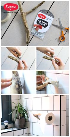 Capture a piece of your holiday and give it a new purpose at home with #Sugru!