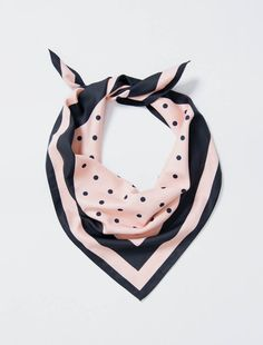 Our Esther Polka Dot Scarf is the fashion-forward accessory, designed to add a feminine touch of sophistication to your uniform look. The versatility of the scarf allows it to be worn in many different ways; style as a headband, tie around your neck at Polka Dot Tie, Polka Dot Scarf, Embroidery Services, Bib Apron, Head And Neck, Blush Color, Neck Scarves, Beauty Shop, Distressed Denim