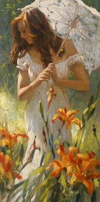 # Richard Johnson : Lilies and Lace #
