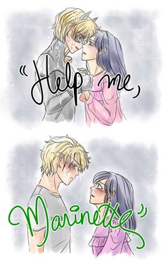 I love the idea of this. Adrian is in trouble because of his dad (as both chat noir and as Adrian) and goes to marinette for help and to confine in her his secret. Wish I knew what she did next. Meraculous Ladybug, Ladybug Comics, Ladybugs, Cat Noir Cosplay, Adrien X Marinette, Ladybug Und Cat Noir, Film Manga, Catty Noir, Miraculous Ladybug Fan Art