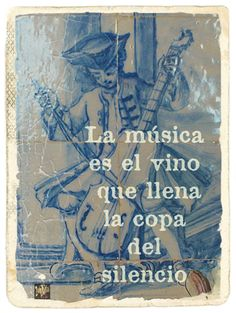 LaVita Music Gifts: Frases de la música: El vino que llena el silencio...