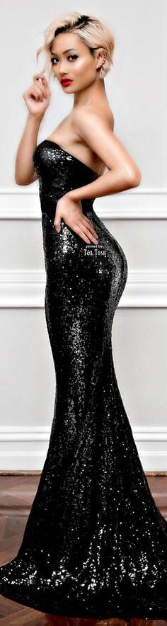 @roressclothes clothing ideas #women fashion black maxi dress