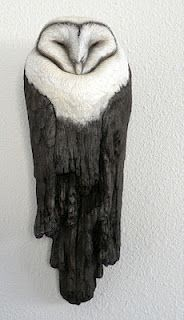 Leanne Hale.  Sculpy not ceramic but marvelous.  Like a lot of her (dead) birds.