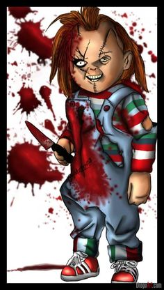 How To Draw Chucky From Childs Play