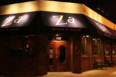 Inventive, gourmet pizza with locations in Arlington and Cambridge, MA