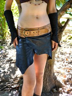 Hey, I found this really awesome Etsy listing at https://www.etsy.com/listing/174702068/leather-mini-skirt-with-buckle-belt