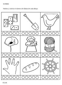 Recursos De Educación Infantil Cuántas Sílabas Tiene Alphabet Activities Words Word Search Puzzle