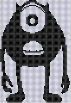 Lsu cross stitch patterns 4c07ddc88f0e381861ng lsu cross monster inc cross stitch pattern fandeluxe Gallery