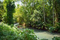 Martha Brae River rafts