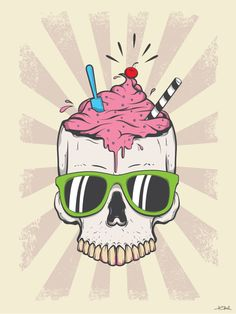 skull ice