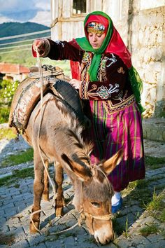 new bride Zulfu Cakmak in the village of Kesme , Turkey
