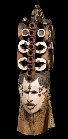 mask from the Igbo people of Nigeria