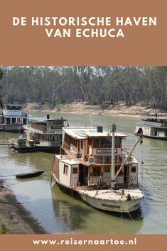 De historische haven van Echuca - Reis ernaartoe Port, Melbourne, Victoria