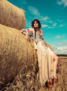 Isabeli Fontana Wows in Colorful Fashion for Vogue Brazils December Cover Shoot
