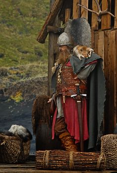 This place has been full of Eastern Vikings of late so he's a nice old-fashioned Viking in Iceland