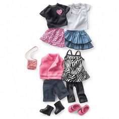 Newberry(TM/MC) 'Gossip Time' Mix & Match Doll Clothes | Sears Canada
