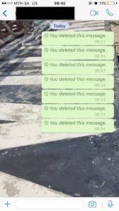 We've all sent that Whatsapp message that we regretted the second after we tap on the send button.