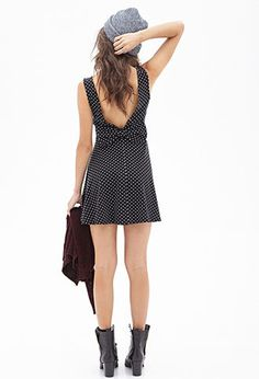 Gotta get this haha Dotted Bow-Back Dress   FOREVER21 - 2000059119
