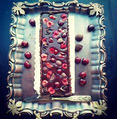 Chocolate and Cherries Tart Cherry Tart, Cherries, Decor, Pie, Maraschino Cherries, Tart Cherries, Decoration, Sweet Cherry Pie, Cherry Fruit