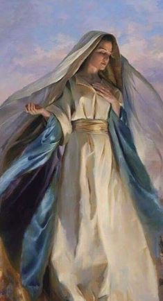 Clothe and Protection with the Shield of Your Immaculate Conception, Virgin Mother of Jesus. Blessed Mother Mary, Divine Mother, Blessed Virgin Mary, Virgin Mary Art, Mother Teresa, Catholic Prayers, Catholic Art, Religious Art, Roman Catholic