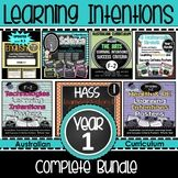 Prep/F Learning INTENTIONS & Success Criteria. All SUBJECTS (Australian Curriculum) This bundle contains All Subject areas which can be purchased separately in my store. Save time and the number of transactions to have the convenience of one file. Secondary Teacher, Primary Teaching, Teaching Tips, Visible Learning, Success Criteria, Learning Support, Text Types, Learning Goals, Australian Curriculum