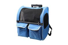 Pettom Roll Around 4-in-1 Pet Carrier Travel Backpack for Dogs and CatsandSmall Animals Travel Tote Airline Approved >> You can find more details here : Cat carrier