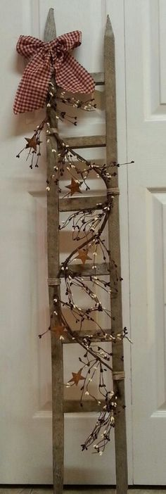 Tobacco stick ladder