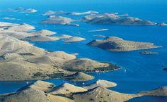 Kornati eilanden in Kroatië