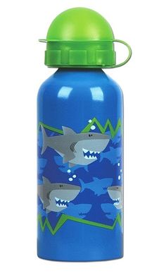 Stephen Joseph Kids Stainless Steel Water Bottle Shark
