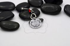 Hand Stamped Firefighter _____ Personalized by MyHeroCreations