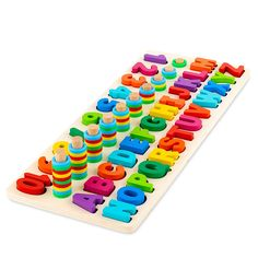 Toy To Enjoy Wooden Alphabet & Numbers Puzzle Toy for Kids – Number 1-10 and ABC Letters Montessori Jigsaw – Learning & Early Educational Toy for Number Counting & Shape Sorting. - Walmart.com - Walmart.com Wooden Toys For Toddlers, Games For Toddlers, Toddler Toys, Toddler Activities, Kids Toys, Motor Activities, Stem Learning, Learning The Alphabet, Learning Toys