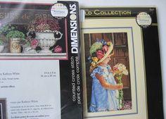 2 Dimensions Cross Stitch Kits My Little Sunshine 35259 Fleurs de Paris Flowers  #Dimensions #CountedCrossStitchKit