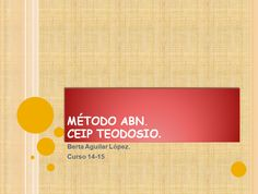 El blog de la maestra Berta: ALGORITMOS ABN.