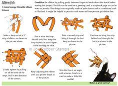 Mizuhiki Ribbon Fish Tutorial