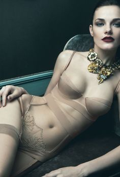 Ritratti Milano Lingerie Fall 2011 | Ode to Venice - 3 Sensual Fashion Editorials | Art Exhibits - Anne of Carversville Women's News