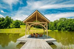 Amazing Outdoor Design Ideas with a Gazebo And Cabana Hot Tub Gazebo, Backyard Gazebo, Outdoor Pool, Garden Furniture, Outdoor Furniture Sets, Modern Gazebo, Large Gazebo, Garden Pavilion, Girl House