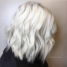 Is she blonde? Absolutely not... she's #blondeAF... @tiffanymhair is the artist... Pulp Riot is the paint. #pulpriothair #hair #haircolor #hairstyle #blonde #whitehair